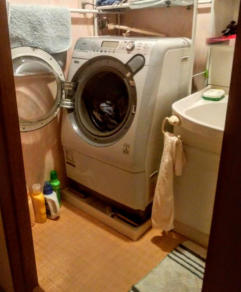 10年くらい使用した東芝のドラム式洗濯乾燥機